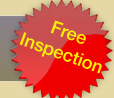 Contact us for a FREE Inspection!